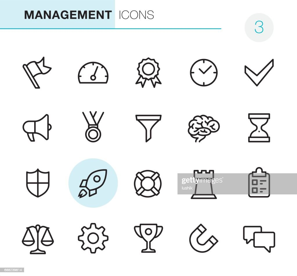 Management - Pixel Perfect icons