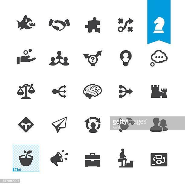illustrations, cliparts, dessins animés et icônes de icône de vecteur de panneau et - fusions et acquisitions