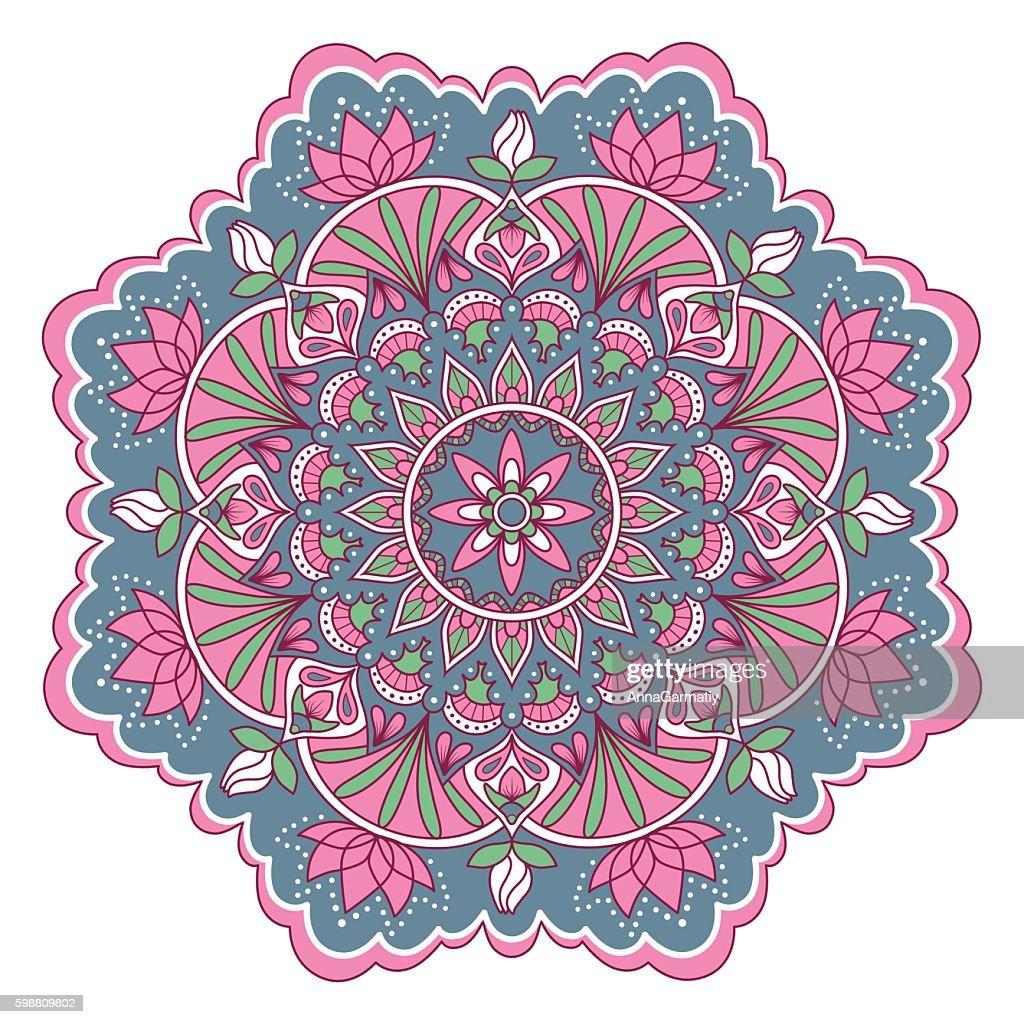 Mandala color pattern