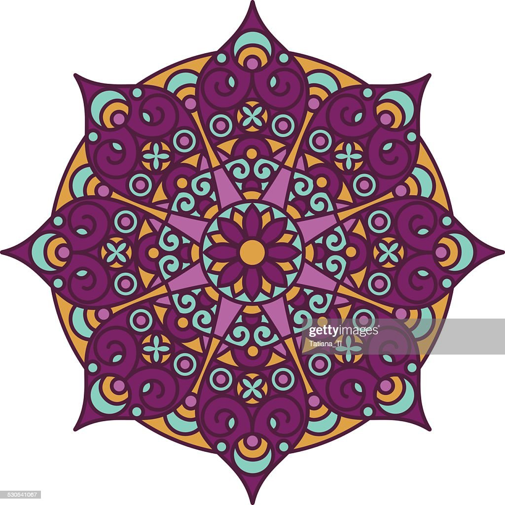 mandala color