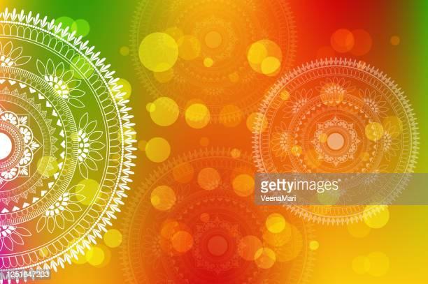 mandala design - spirituality stock illustrations