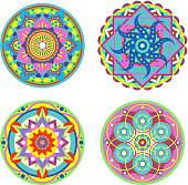 Mandala Symmetry Enlightenment Ritual Symbol
