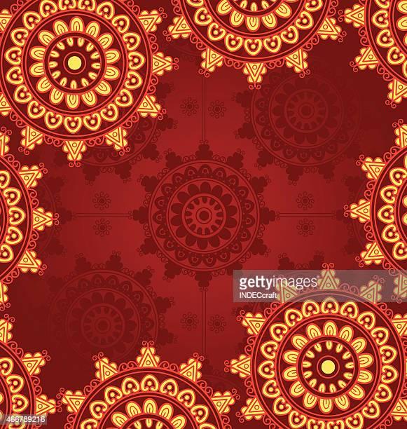 mandala template - mandalas india stock illustrations