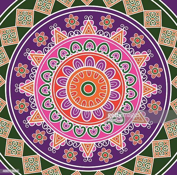 mandala - morocco stock illustrations, clip art, cartoons, & icons