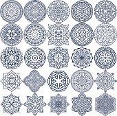 Mandala Vector Ornaments Set 2