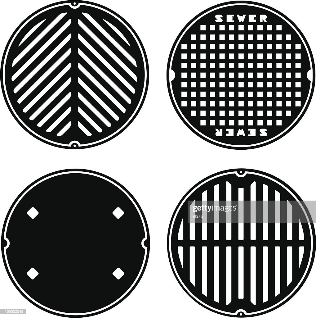 Manhole (sewer) covers