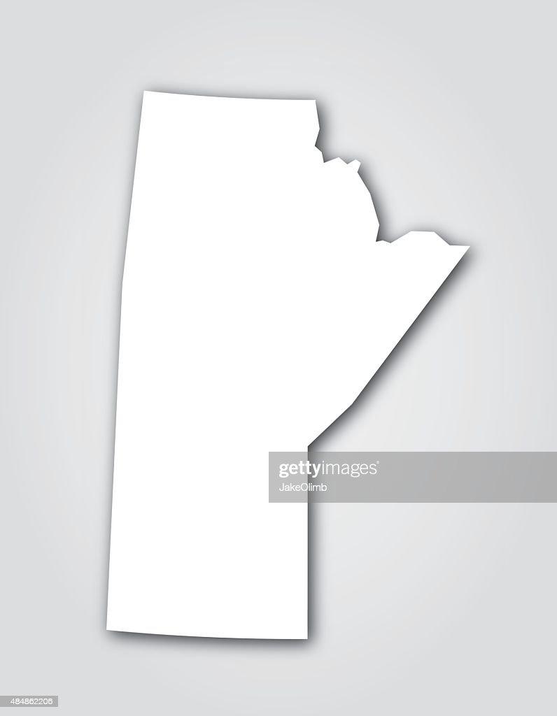 Manitoba Silhouette White