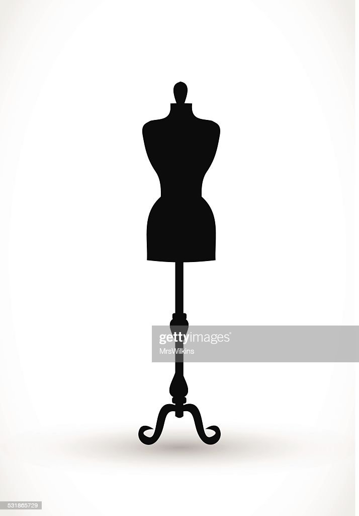 Mannequin icon vector illustration