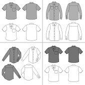 Man's shirt set