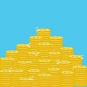 many gold coins money save