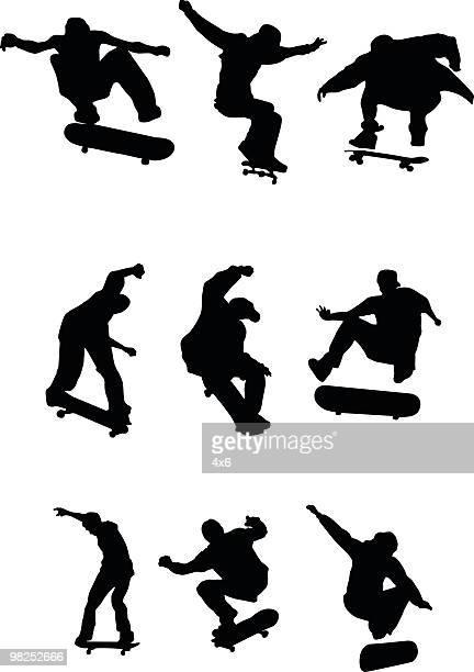 Many skaters
