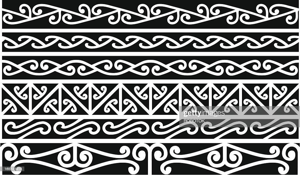 Maori Borders - New Zealand