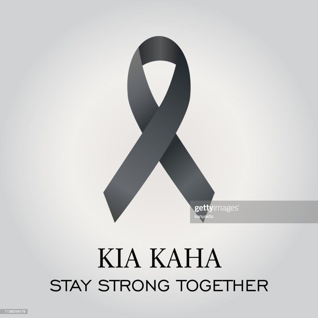 Maori phrase meaning stay strong Maori phrase meaning stay strong with black ribbon.