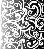 Maori style ornament