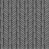Maori tribal pattern vector seamless. African fabric print. Ethnic polynesian aboriginal art. Peruvian black white background