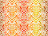 Maori tribal pattern vector seamless. African fabric texture. Traditional polynesian aboriginal art. Surfing background for boho textile blanket, wallpaper, wrapping paper and backdrop template.