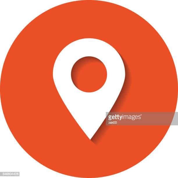 map marker - human settlement stock illustrations, clip art, cartoons, & icons
