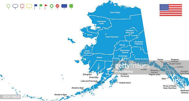 World\'s Best Anchorage Alaska Stock Illustrations - Getty Images