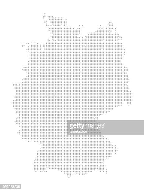 Carte de points - Allemagne