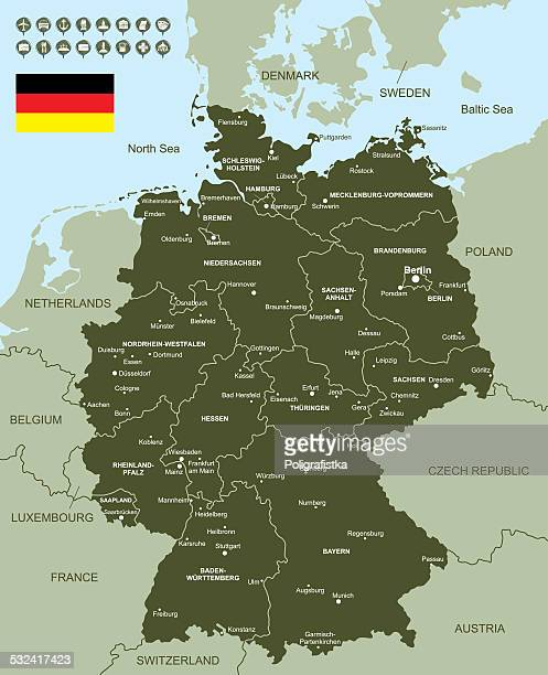 West Germany Premium Stock Illustrations - Getty Images