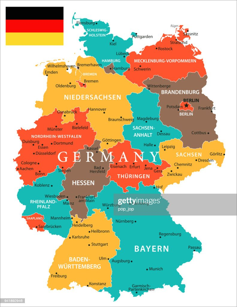 Map Of Germany Vector High-Res Vector Graphic - Getty Images Leipzig Germany On World Map on garmisch germany on map, auschwitz germany on map, osnabruck germany on map, schwangau germany on map, aachen germany on map, fussen germany on map, darmstadt germany on map, berchtesgaden germany on map, oldenburg germany on map, augsburg germany on map, marburg germany on map, grafenwoehr germany on map, bremen germany on map, rothenburg germany on map, karlsruhe germany on map, amsterdam germany on map, landstuhl germany on map, kiel germany on map, luneburg germany on map, kaiserslautern germany on map,