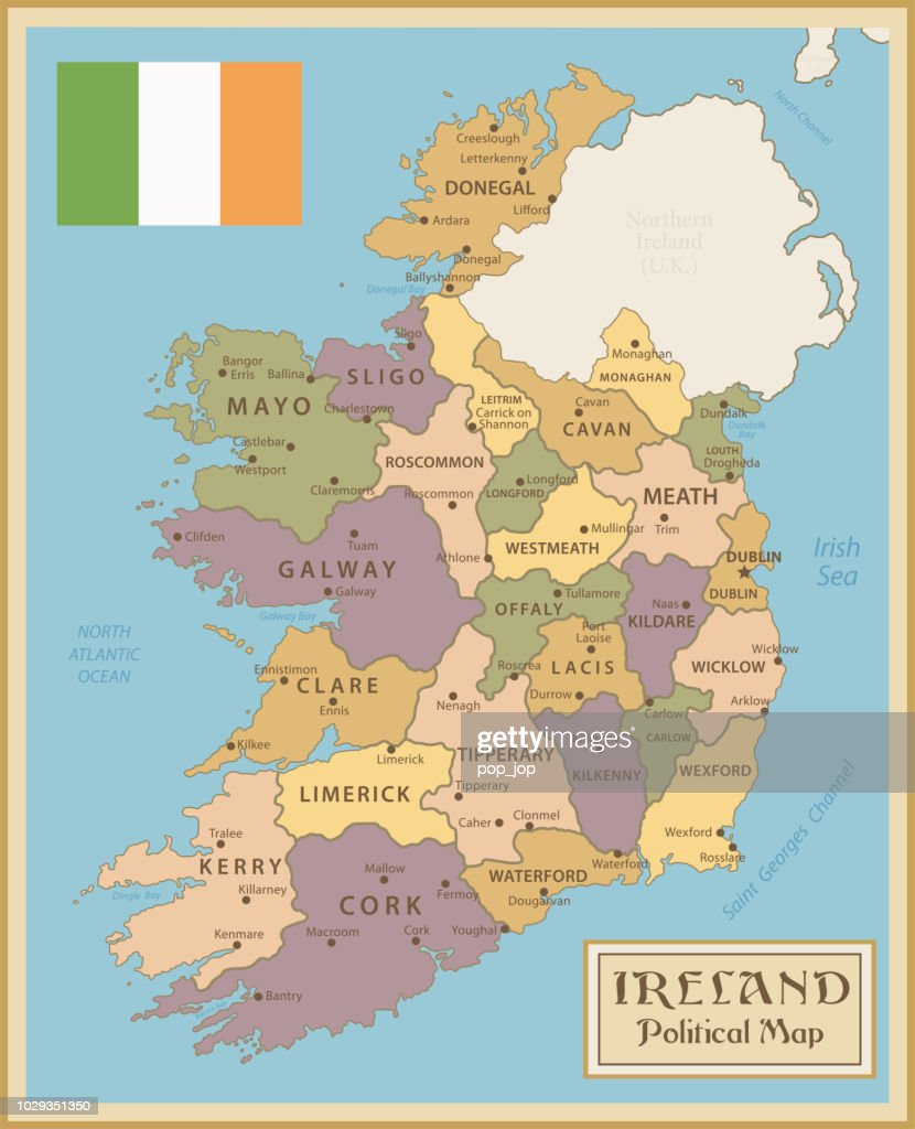 Map Of Ireland Vintage Vector High-Res Vector Graphic ... Illustration Map Of Ireland on map of netherlands, map of european countries, map of japan, map of britain, map of british isles, map of dublin, map of skellig islands, map of denmark, map of united kingdom, map of ring of kerry, map of united states, map of prince edward island, map of eastern hemisphere, map of yugoslavia, map of northeast us, map of sweden, map of scotland, map of london, map of hong kong, map of philippines,