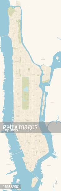 Map of Manhattan