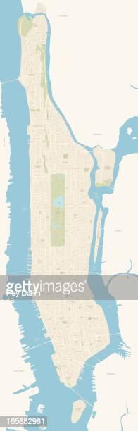 Cartoon Map Of New York City.Manhattan New York City Stock Illustrations And Cartoons