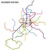 Map of metro