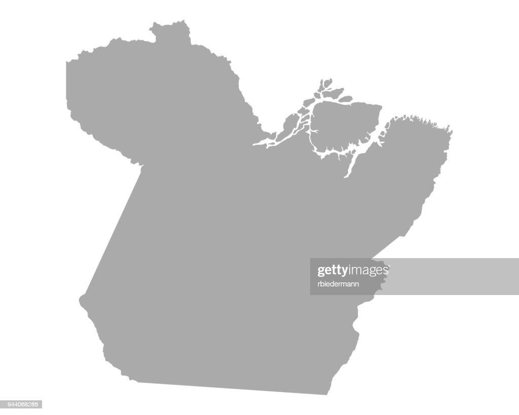 Map of Para