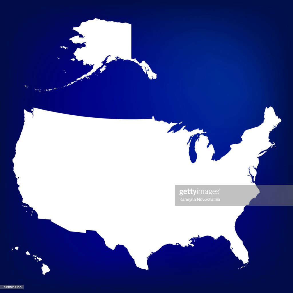 Map Of Usa Including Alaska And Hawaii Blank Similar Usa Map ...
