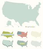 U.S. Map Outlines