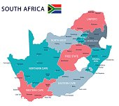 SOUTH AFRICA map WORK1