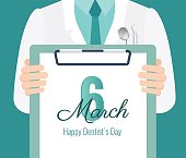 6 march - dentist`s day.