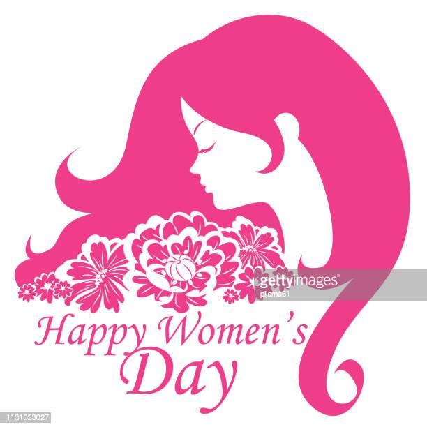 ilustraciones, imágenes clip art, dibujos animados e iconos de stock de 8 de marzo, fondo del día de la mujer - feliz dia de la mujer