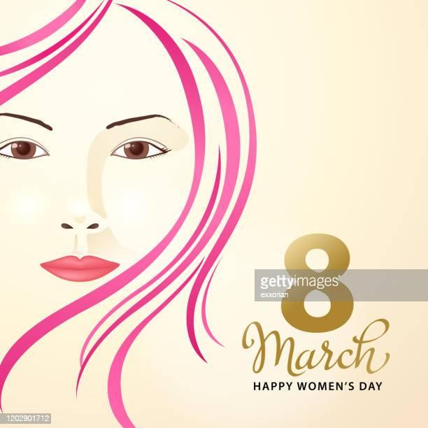 ilustrações de stock, clip art, desenhos animados e ícones de 8 march women's day - dia internacional da mulher