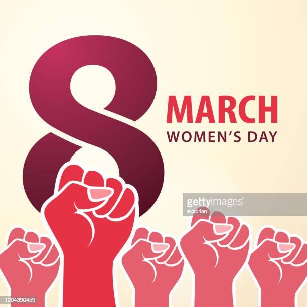 3月8日 女性デー - 三月点のイラスト素材/クリップアート素材/マンガ素材/アイコン素材
