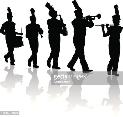 Marching Band Clipart Clarinet Marching Band F...