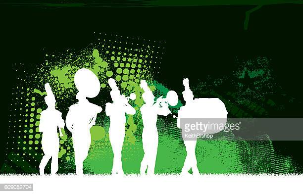 Worlds Best Marching Band Stock Illustrations Getty Images