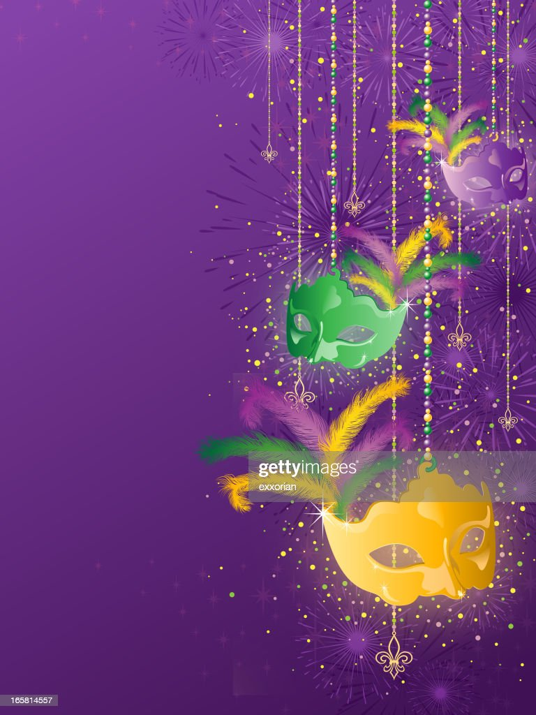 Mardi Gras Background : stock illustration