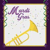 Mardi gras carnival design