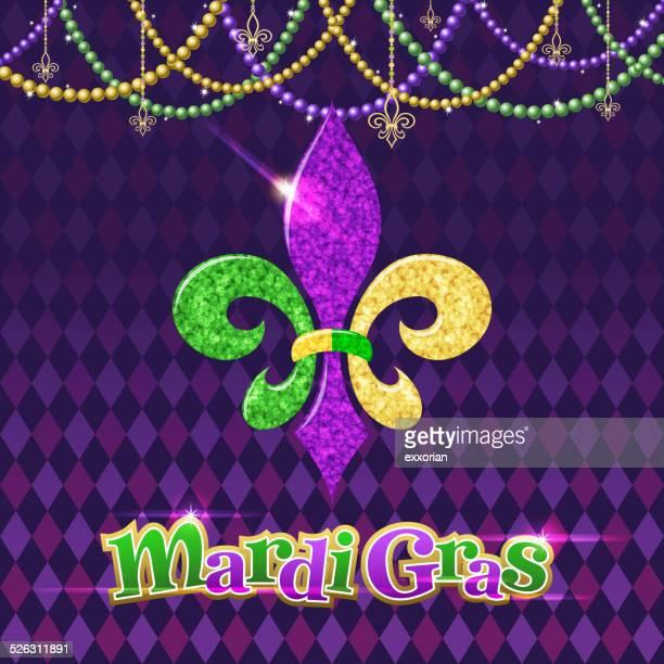 Mardi Gras salón Fleur De Lis símbolo