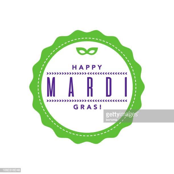 ilustraciones, imágenes clip art, dibujos animados e iconos de stock de mardi gras - gras