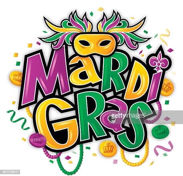 mardi gras - mardi gras stock illustrations, clip art, cartoons, & icons