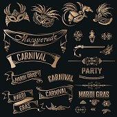 Mardi Gras Vintage set