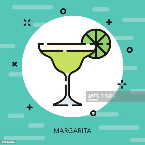 Margarita Open Outline Cinco de Mayo Icon