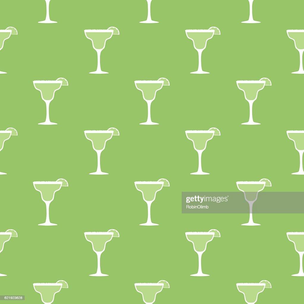 Margarita Seamless Pattern : Ilustração