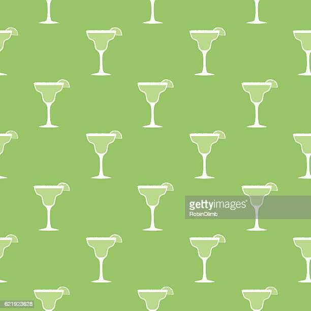 margarita seamless pattern - tequila drink stock illustrations, clip art, cartoons, & icons