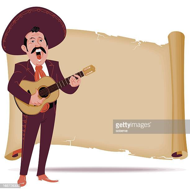 mariachi banner - mariachi stock illustrations