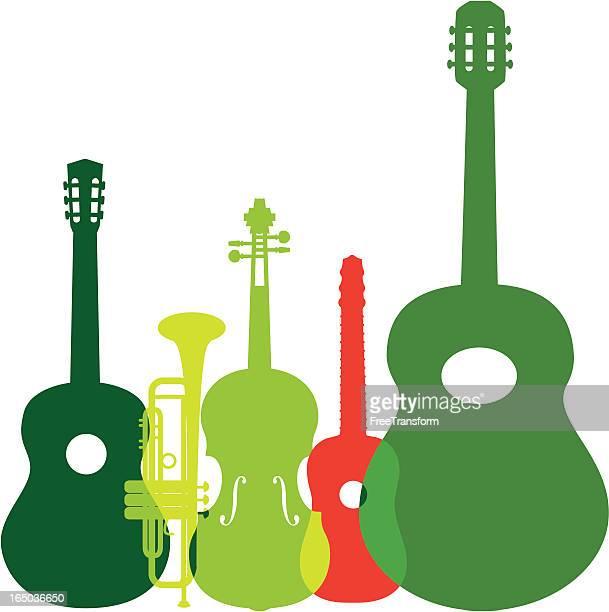 ilustrações de stock, clip art, desenhos animados e ícones de instrumentos de música mariachi - mariachi